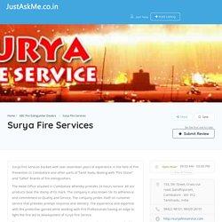 Surya Fire Services - JustAskMe