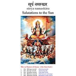 Surya Namaskar - prayers to the Sun-god