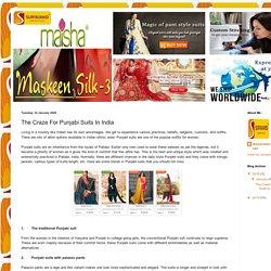 Suryavansi Creation Pvt. Ltd: The Craze For Punjabi Suits In India