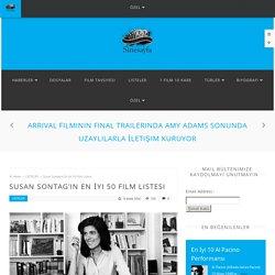 Susan Sontag'ın En İyi 50 Film Listesi