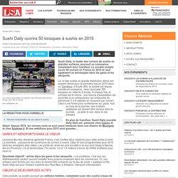 Sushi Daily ouvrira 50 kiosques à sushis en 2015