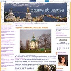 """Sushis"" ukrainiens aubergine-tvorog"
