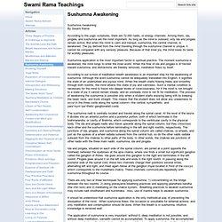 Sushumna Awakening - Swami Rama Teachings