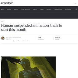 Human 'suspended animation' trials to start this month