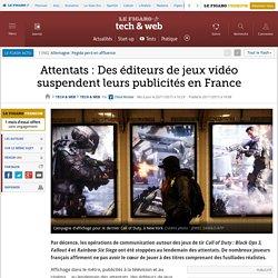 Attentats : Des éditeurs de jeux vidéo suspendent leurs publicités en France