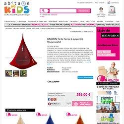 CACOON Tente hamac à suspendre Rouge scarlet - 29335886 - Abitare Kids