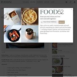 Suspiciously Delicious Cabbage recipe on Food52