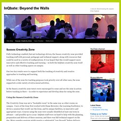 InQbate: Beyond the Walls