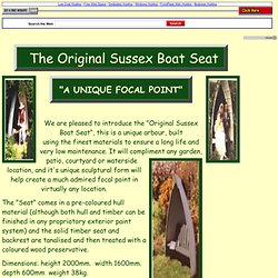 sussex garden seats and arbours