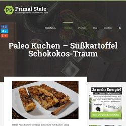 Paleo Kuchen - Süßkartoffel Kokostraum (Super lecker!)