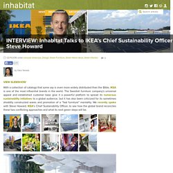 INTERVIEW: Inhabitat Talks to IKEA's Chief Sustainability Officer Steve Howard