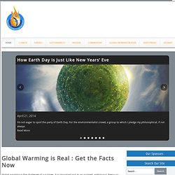 Global Warming is Real | Climate | Energy | Sustainability