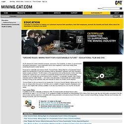 Global Mining Sustainability — Education