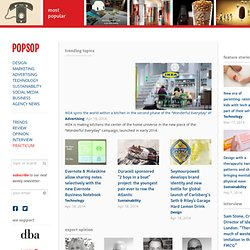 POPSOP.COM. Brand news. Brand communications. Brand design. Pack