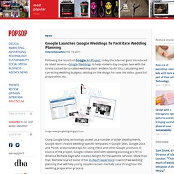 Google Launches Google Weddings To Facilitate Wedding Planning