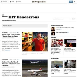 SUSTAINABILITY - IHT Rendezvous