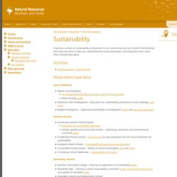 Sustainability - Natural Resources SA Northern and Yorke