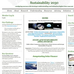 Home-Sustainability Perspectives - Sustainability 2030