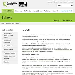 ResourceSmart Australian Sustainable Schools Initiative Victoria (AuSSI Vic)