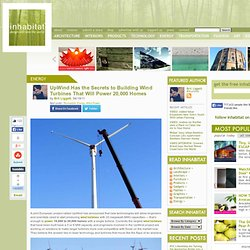 UpWind Wind Turbines