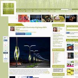 Turbine Light Powers Highway Lights With Wind