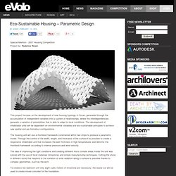Eco-Sustainable Housing – Parametric Design