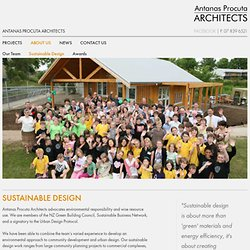 Sustainable Design in Architecture