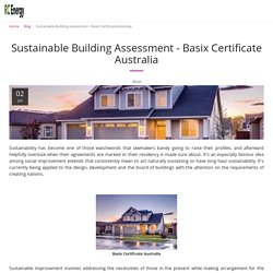Sustainable Building Assessment - Basix Certificate Australia - RC Energy