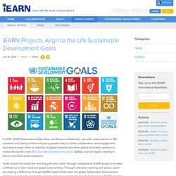 Projects Align to the UN Sustainable Development Goals - iEARN Collaboration Centre