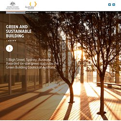 Australian Green and Sustainable Building - Leaders in Innovation and Collaboration