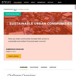 Sustainable Urban Communities - Overview