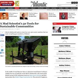 A Mad Scientist's 50 Tools for Sustainable Communities - Leah Messinger - Life
