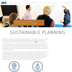 Sustainable Planning – MKK Consulting Engineers, Inc.