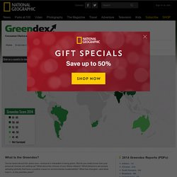 Greendex: Survey of Sustainable Consumption