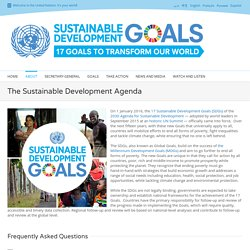 2015 - United Nations sustainable development agenda