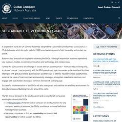 Global Compact Network Australia
