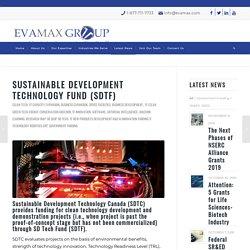 Sustainable Development Technology Fund (SD Tech Fund) - EVAMAX