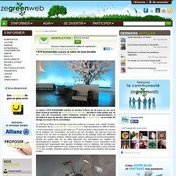 1.618 Sustainable Luxury, le salon du luxe durable (jeu-concours)