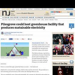 Pilesgrove could host greenhouse facility that produces sustainable electricity