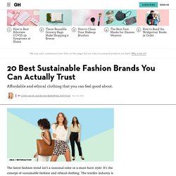 20 Sustainable Fashion Brands – Ethical Clothing for Women