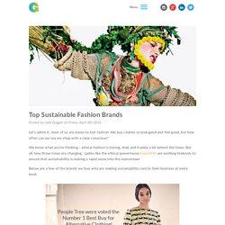 Top Sustainable Fashion Brands - Greenhouse