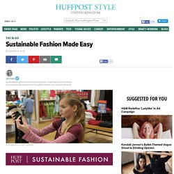 Sustainable Fashion Made Easy