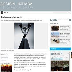 Sustainable = humanist
