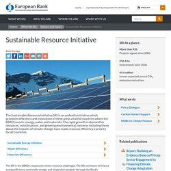 s Sustainable Resource Initiative