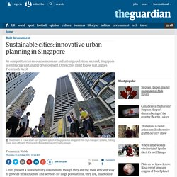 Sustainable cities: innovative urban planning in Singapore