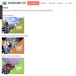Sustainable 2.0 – Folkeskole, KlimaKapitler - Sustainable 2.0 - Folkeskole, Klima