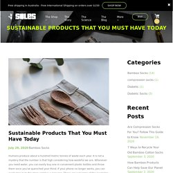 Sustainable Products Must Have