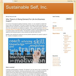 Why There Is A Rising Demand For Life And Business Coach?