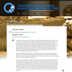 Teaching and Learning for a Sustainable Future