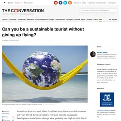 Can you be a sustainable tourist without giving up flying?